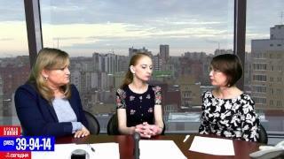 В эфире: Лариса Коновалова, Евгения Семенюк
