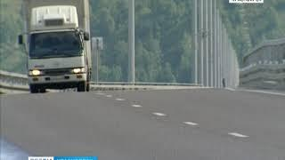 В Красноярске на Николаевском мосту установили камеры для фиксации нарушений
