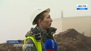 Сквер имени Анны Щетининой во Владивостоке продолжает разрушаться
