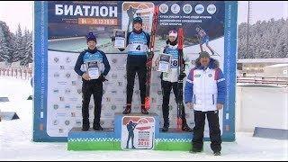 Большие гонки - югорчане взяли весь пьедестал в новой дисциплине Кубка России по биатлону