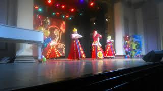 Танцевальный коллектив Ишимской школы-интерната для слабослышащих