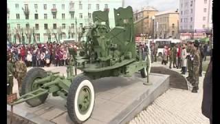 В Красноярске открыли скульптуру в честь послевоенных трудовых подвигов красноярцев