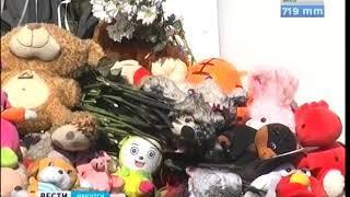 Игрушки на мемориале памяти погибших в Кемерово загорелись ночью в Иркутске