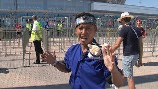 Японская телекомпания командировала в Волгоград ниндзя с маленькой собачкой