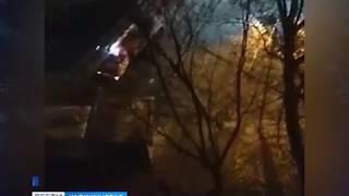 В Калининграде загорелась квартира на улице Мариупольской (видео)
