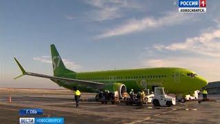 Первый в России пассажирский лайнер нового поколения выполнил первый рейс из аэропорта «Толмачёво»