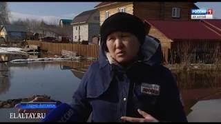 Жители Карлушки пострадали от талых вод