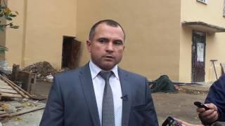 Комментарий главы города Андрея Усикова после осмотра домов на улице Ленина
