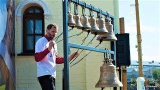 Жители Югорска учились играть колоколами
