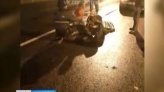 На улице Пограничников двое детей попали под колёса автомобиля