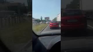 На проспекте Кулакова в Ставрополе образовалась большая пробка