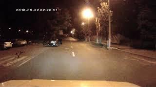Ночное ДТП в Каменском.