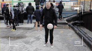 Корреспондент ОТРК «Югра» дал мастер-класс ханты-мансийским футболистам