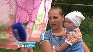 Жители Завьяловского района Удмуртии жалуются на отсутствие воды