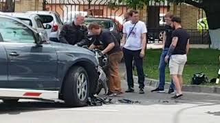 Иномарка сбила мотоциклиста в центре Ставрополя