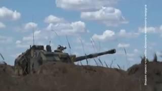 """Мотострелки ЮВО проводят учения на полигоне """"Прудбой"""""""