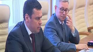 Дмитрий Миронов обсудил с академиком РАН Марком Курцером демографическую ситуацию в регионе