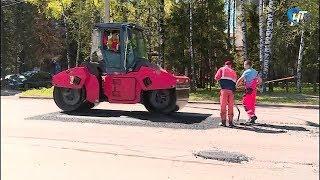 В Великом Новгороде начался ямочный ремонт дорог