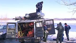 Ярославские спасатели провели масштабные учения на воде