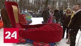 Миллион тюльпанов, боевые сани и салют: выходные в Москве удивят - Россия 24