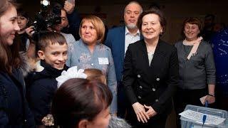Наталья Комарова пообщалась с избирателями в Сургуте