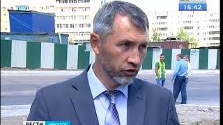 Новый асфальт на улице Седова в Иркутске начнут укладывать ночью