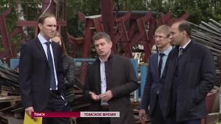 В Кривошеине ведётся строительство новой котельной