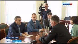 Марий Эл посетил руководитель Федеральной службы судебных приставов Дмитрий Аристов - Вести Марий Эл