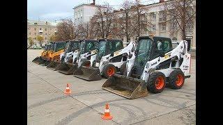 Виртуозов механической уборки улиц определили в Новокуйбышевске