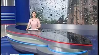 В Красноярск идут сильные дожди с ветром