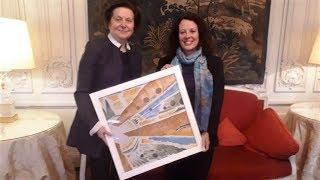 Наталья Комарова встретилась с французским послом
