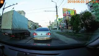 Курганским автохамам Правила дорожного движения не писаны. ВИДЕО