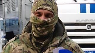 В память о погибших сотрудниках «Беркута»