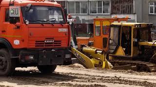 В Кургане закрывают несколько перекрестков из–за строительства новой дороги по ул.Б.Петрова