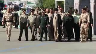 Iran's supreme leader visits Imam Hussein military academy