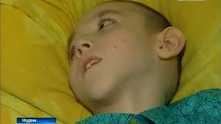 Подарок мальчику инвалиду от сборной по футболу
