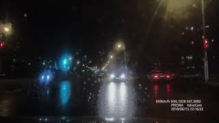 Момент ДТП на проспекте Тракторостроителей в Чебоксарах, 13 июня 2018