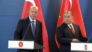 Эрдоган в гостях у Орбана