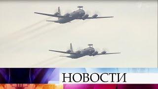 В воздушной части парада в Петербурге примут участие самолеты и вертолеты морской авиации.