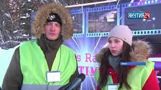 Гонщики Ленска и Мирного устроили дрифт на озере Ханайдах