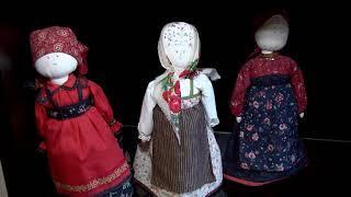 В доме-музее Павла Кузнецова открылась выставка текстильных кукол