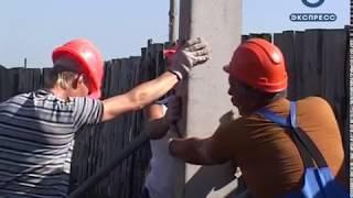 В Кузнецке к домам многодетных семей прокладывают новую электросеть