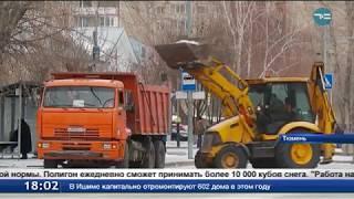 В Тюмени ожидается сильный снегопад