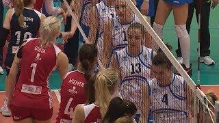 Волейболистки краснодарского «Динамо» уступили греческому «Олимпиакосу» в полуфинале Еврокубка
