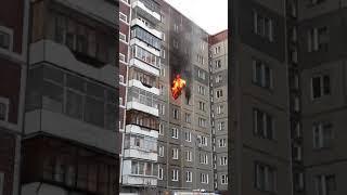 Челябинец спас двоих детей из страшного пожара