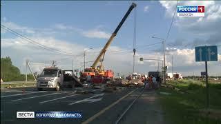 Пассажир «Хендай» скончался после жуткого ДТП в Грязовецком районе