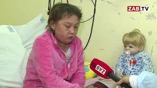 Маленькая пациентка онкодиспансера попросила Деда Мороза вылечить ее от лейкоза