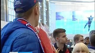 Красноярский аэропорт эвакуировали из-за пожарной тревоги