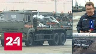 В столице пройдет генеральная репетиция парада Победы - Россия 24