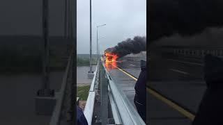 Пожар на трассе М11